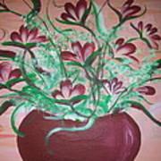 Still Life Floral Poster