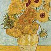 Still Life Sunflowers Poster