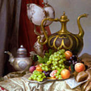Still-life With A Glass Of Dutch Poster