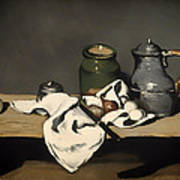 Still Life With A Kettle Poster