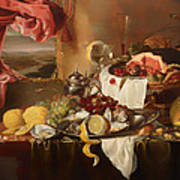 Still Life With View Poster