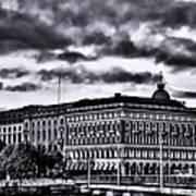 Stockholm Bw V Poster