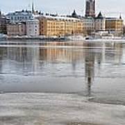 Stockholm Winter Poster