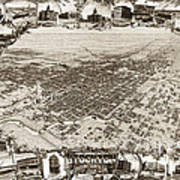 Stockton San Joaquin County California  1895 Poster by California Views Mr Pat Hathaway Archives