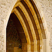 Stone Archway At Tower Hill Poster