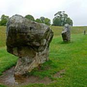 Stone At Avebury Poster