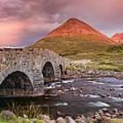 Stone Bridge Over Sligachan Poster