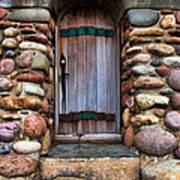 Stone Door Poster