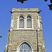 Stone Gothic Church Poster