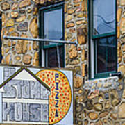 Stone House Pizza Poster