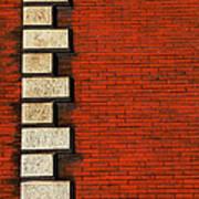 Stone On Brick Poster