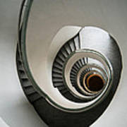 Stone Staircase Poster