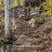 Stone Steps Poster