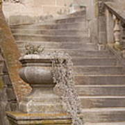 Stone Steps National Cathedral Poster