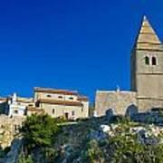 Stone Town Of Lubenice In Croatia Poster