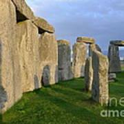 Stonehenge Stones Poster