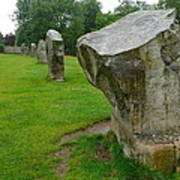 Stones At Avebury Poster