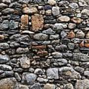 Stones Wall Poster