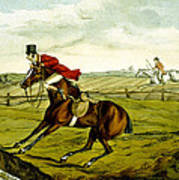 Stopping At Water From Qualified Horses And Unqualified Riders Poster