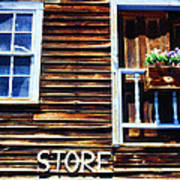 Storefront Rustic Poster