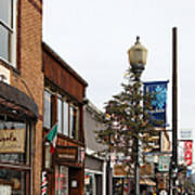 Storefront Shops In Truckee California 5d27490 Poster