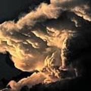 Storm Cloud Menacing Poster