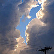 Storm Clouds 4 Poster