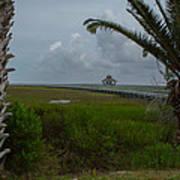 Storm Clouds Near Port Lavaca Poster