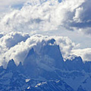 Storm Over Fitz Roy 1 Poster