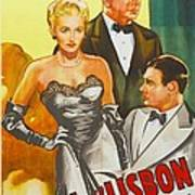Storm Over Lisbon, Us Poster, From Left Poster