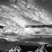 Storm Over Sedona Poster by Dave Bowman