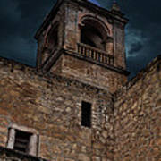 Storm Over The Alcazaba - Antequera Spain Poster