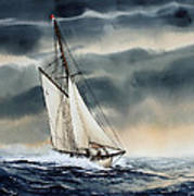 Storm Sailing Poster by James Williamson