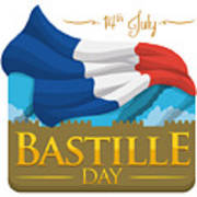 Storming Of The Bastille Representation Poster
