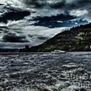 Stormy Loch Ness Poster