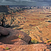 Stormy Skies In Canyonlands Poster