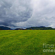 Stormy Sky Above Castlerigg Stone Circle Poster