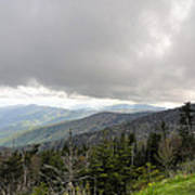 Stormy Smoky Mountains Poster