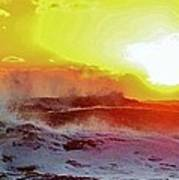 Stormy Sunrise 2 11/03 Poster