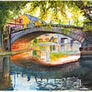 Strasbourg Autumn Evening Poster