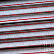 Straw Red Poster