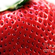 Strawberry Detail Poster