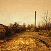 Strawmill Road Poster