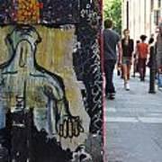 Street Art And Street Scene London Poster