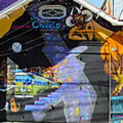 Street Art Valparaiso Chile 5 Poster