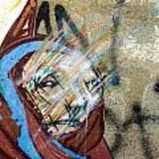 Street Art Valparaiso Poster