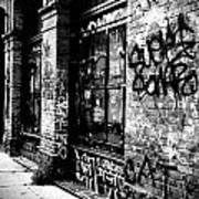 Street Graffiti Poster