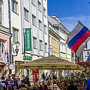 Street Life - Tallin Estonia  Poster