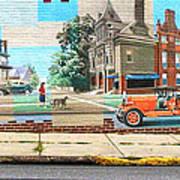 Street Mural Poster