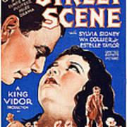 Street Scene, From Left William Collier Poster